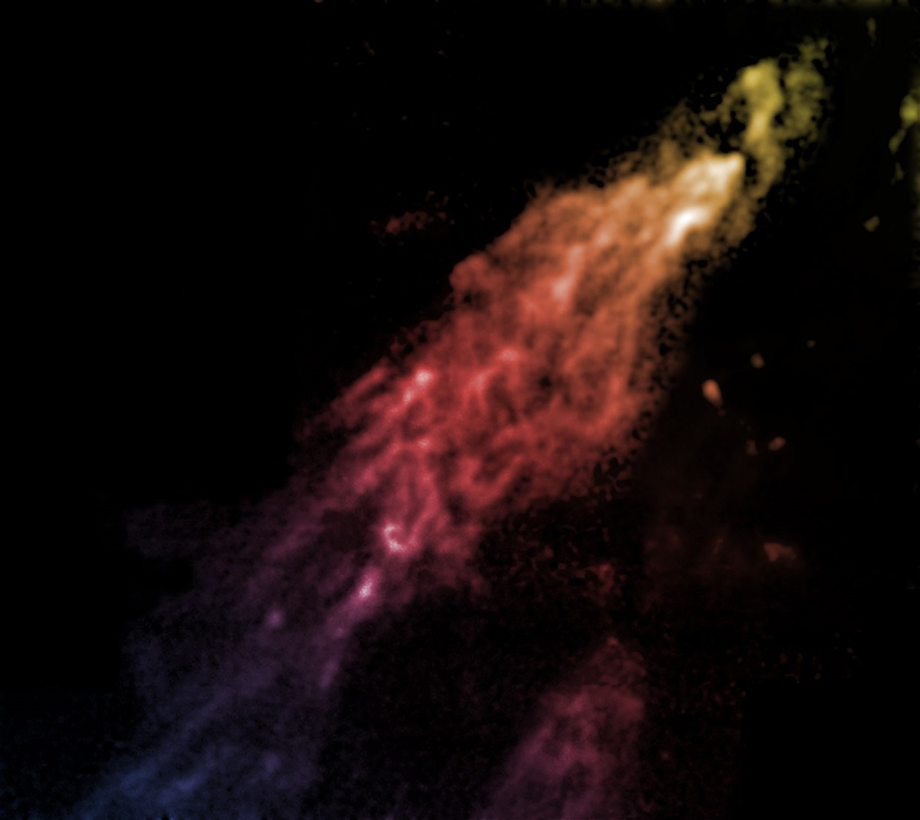 Smith's Cloud, a cloud of hydrogen gas in Aquila