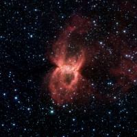 The Black Widow Nebula, an emission nebula in Circinus