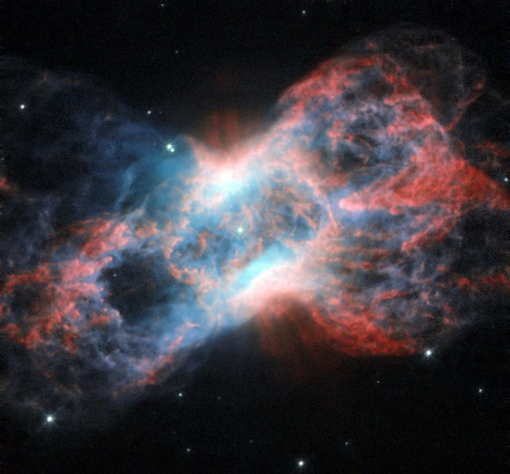 The Cheeseburger Nebula, a planetary nebula in Cygnus