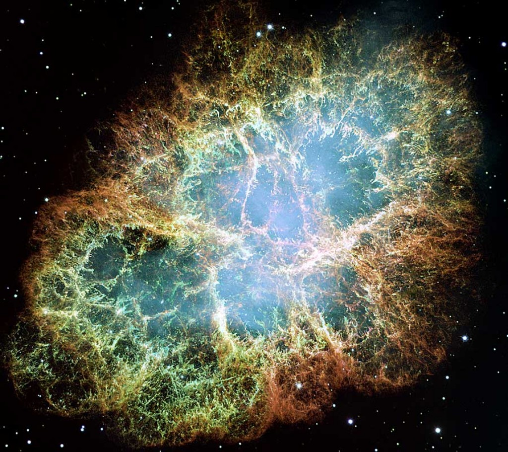 The Crab Nebula (M1, NGC 1952 or Taurus A)