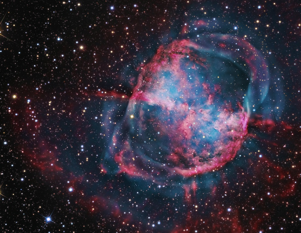 Dumbbell Nebula (page 2) - Pics about space