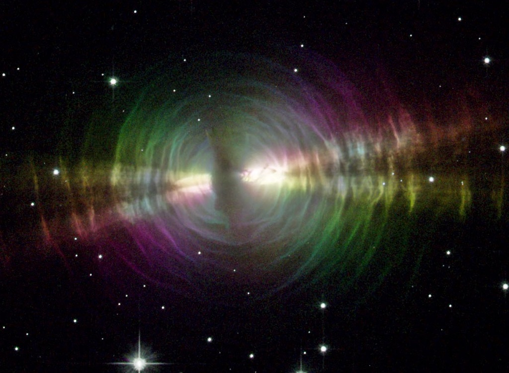 The Egg Nebula, a protoplanetary nebula in Cygnus