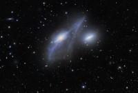 NGC 4438 and NGC 4435