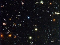 The Hubble Deep Field image