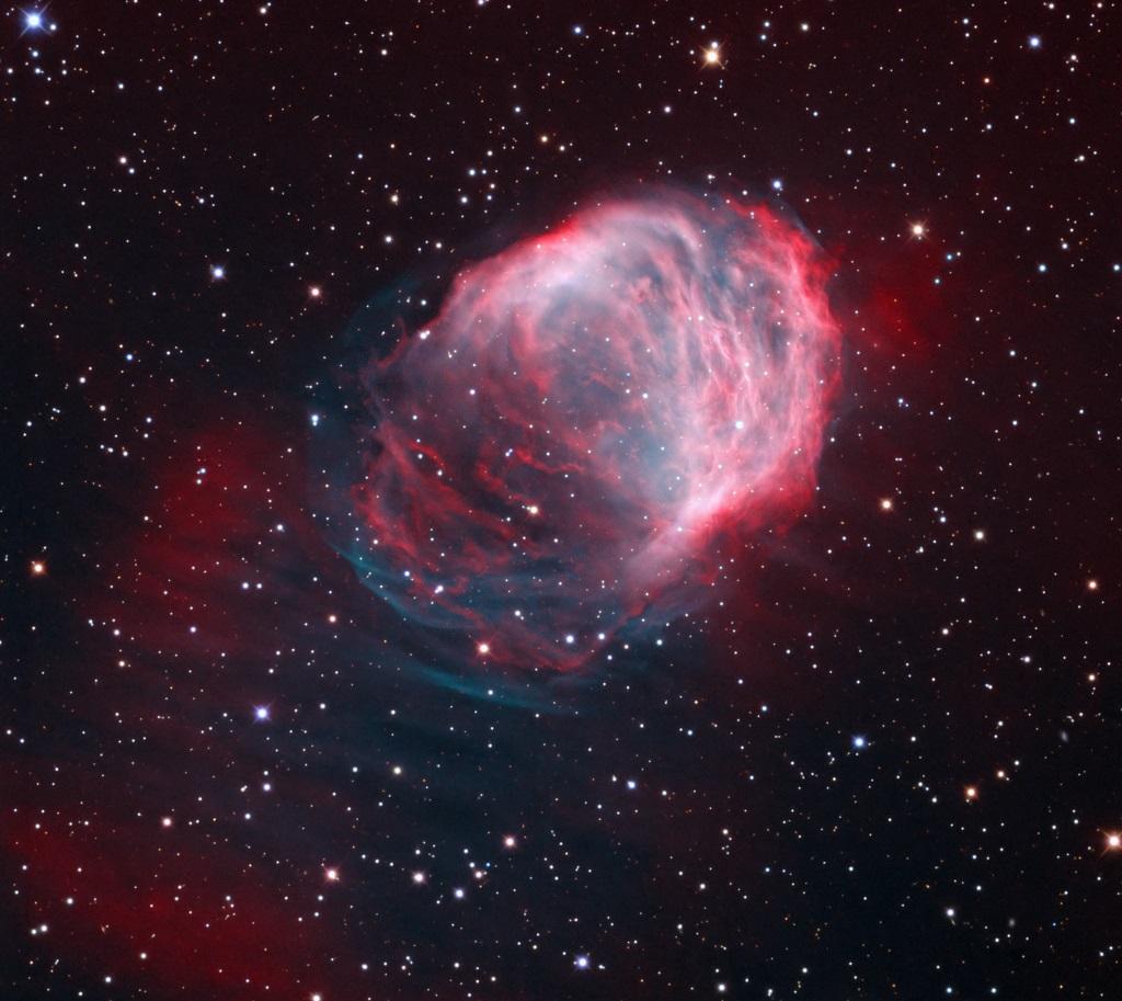 The Medusa Nebula, an old planetary nebula in Gemini