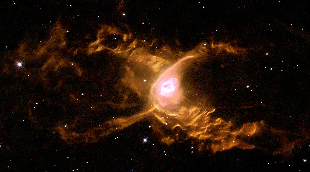 The Red Spider Nebula, a planetary nebula in Sagittarius