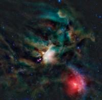 Rho Oph, Ophiuchus Molecular Cloud