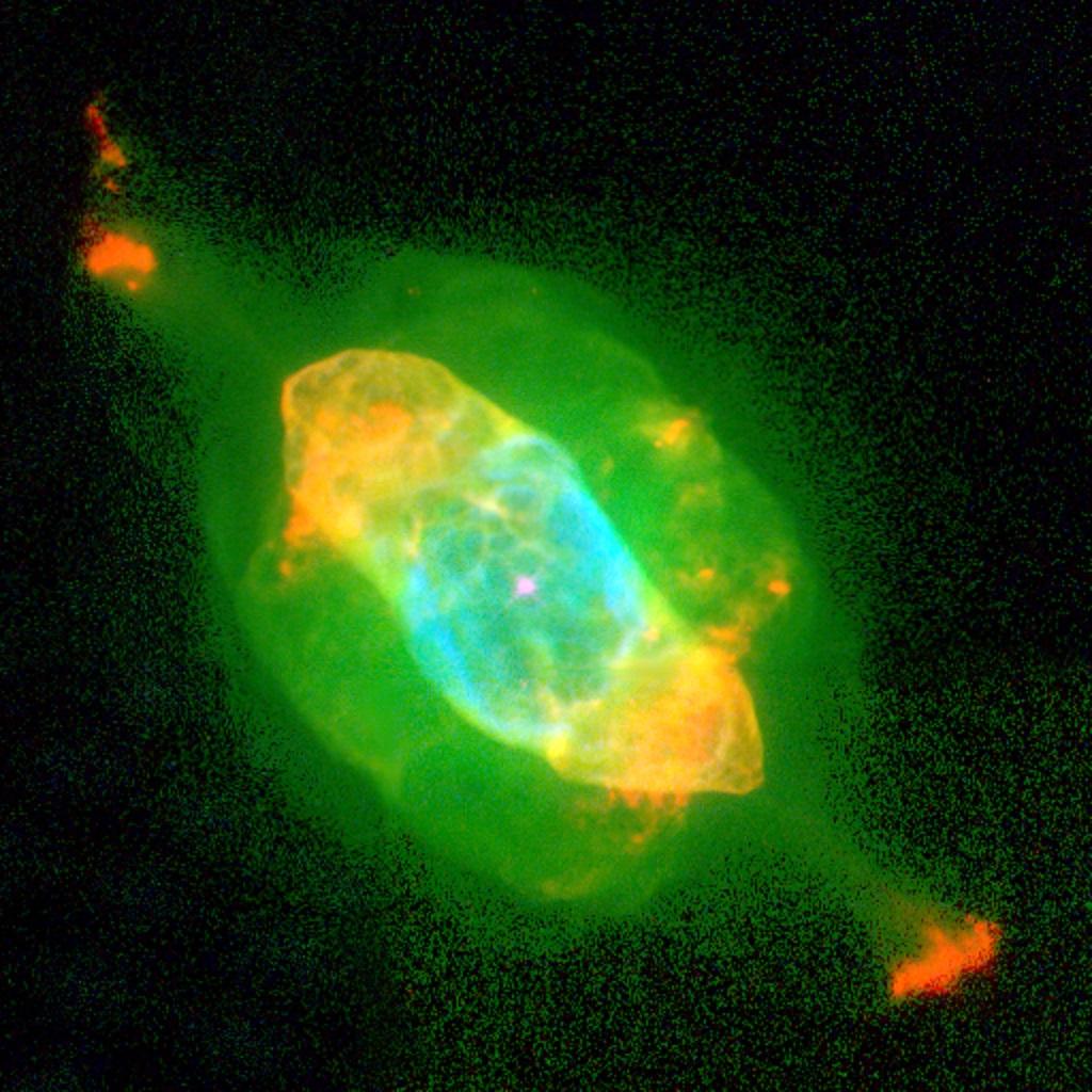 The Saturn Nebula, a planetary nebula in Aquarius | Anne's ...