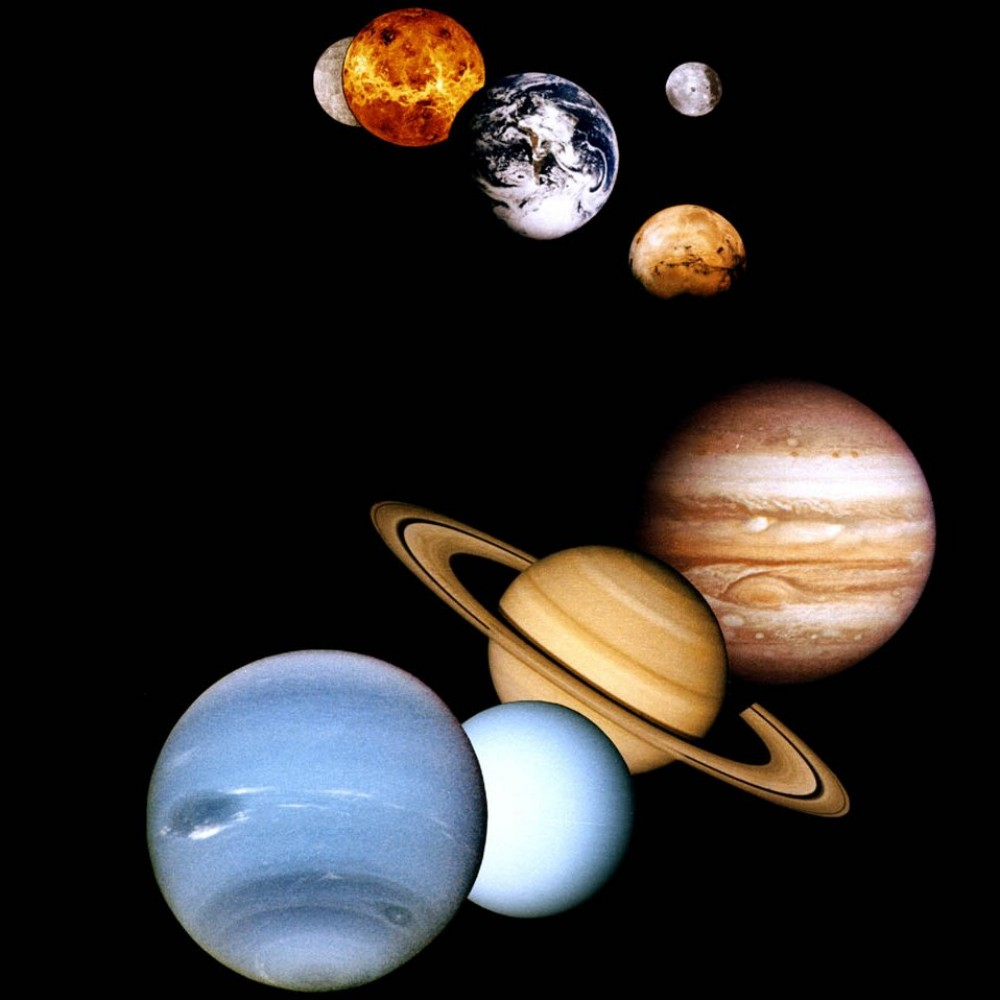 real pictures of the solar system planets - photo #12