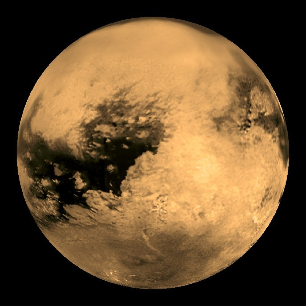 Titan Saturn S Largest Moon Anne S Astronomy News