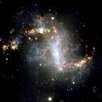 Topsy Turvy Galaxy (NGC 1313)