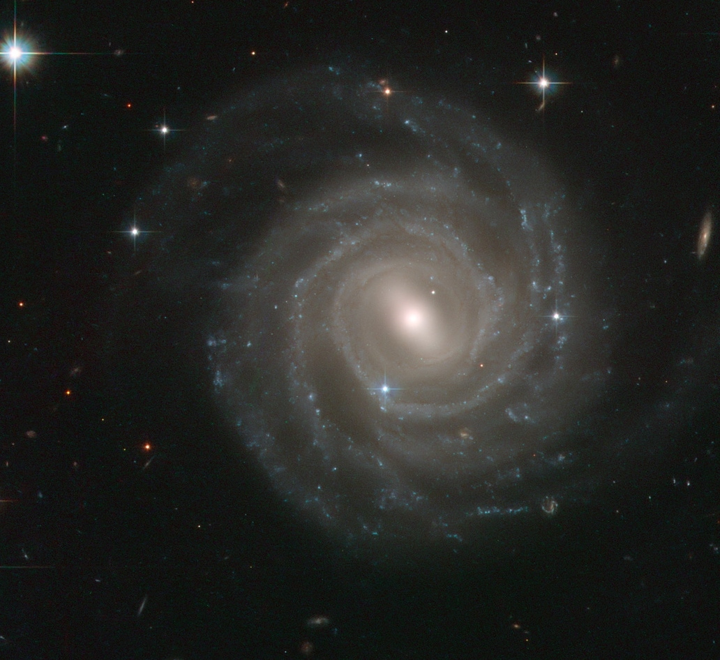 UGC 12158, a barred spiral galaxy in Pegasus