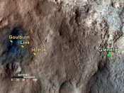 Curiosity Finds Old Streambed on Mars