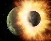 Moon was Formed in Massive Planetary Collision