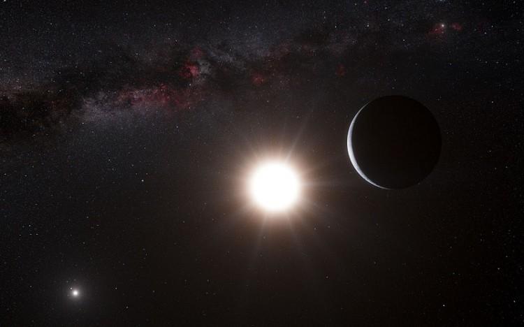 A planet orbiting the star Alpha Centauri B