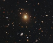 Giant Galaxy Stirred Up By Black-hole Mischief?