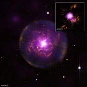 Fate of Solar System Shown by Reborn Star