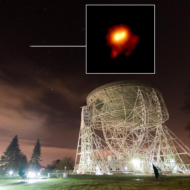 Betelgeuse & Lovell Telescope