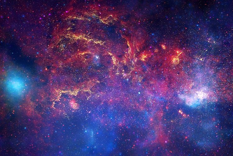 Intense activity near the Galactic Core
