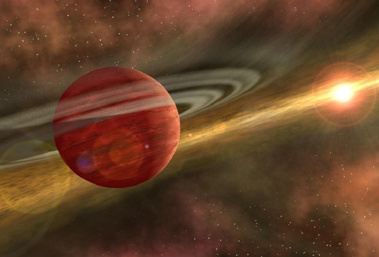 Eenzame planeet ontdekt