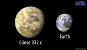 Nearby Earth-like planet found: Gliese 832c