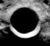 Walls of Lunar Crater Hold Patchy Ice