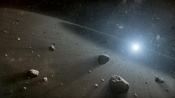 Evidence for Asteroid Belt Around the Star Vega