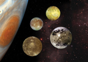 Life on the Moons of Jupiter and Saturn through Panspermia?