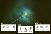 Galaxy Harbours Many Star-Snacking Black Holes