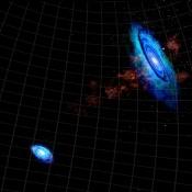 Our Neighbor Galaxies Had a Close Encounter