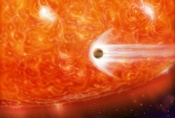 Planet Devoured by Star!