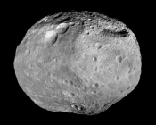 Carbon, a Building Block for Organic Molecules, in Vesta's Craters
