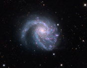 Anne's Image of the Day: Spiral Galaxy Messier 99