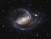 Anne's Picture of the Day: Spiral Galaxy NGC 1097