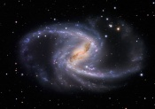 Anne's Picture of the Day: The Great Barred Spiral Galaxy