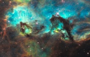 Anne's Image of the Day: NGC 2074 and the Seahorse