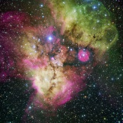 Anne's Picture of the Day: Emission Nebula NGC 2467