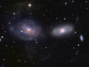 Anne's Picture of the Day: Interacting Galaxies NGC 3169/66