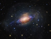 Anne's Image of the Day: Spiral Galaxy NGC 3521