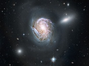 Anne's Picture of the Day: Spiral Galaxy NGC 4911