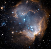 Anne&#039;s Picture of the Day: Star Cluster NGC 602