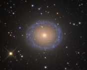 Anne's Image of the Day: Spiral Galaxy NGC 7217