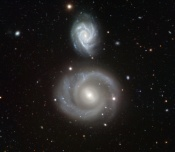 Anne's Image of the Day: Spiral Galaxies NGC 799 & 800