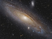 Satellites of the Andromeda Galaxy Imitate a Solar System