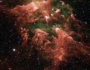 Anne's Image of Day: The South Pillar Region of the Carina Nebula