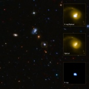 Supermassive Black Hole Kicked Out of Home Galaxy