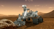 Curiosity Begins Driving at Bradbury Landing