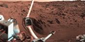 Mars Viking Robots 'Found Life'