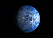 Exoplanet HD 189733b Appears to be Azure Blue